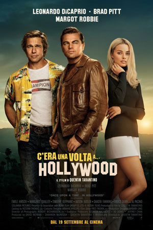 cera una volta a hollywood